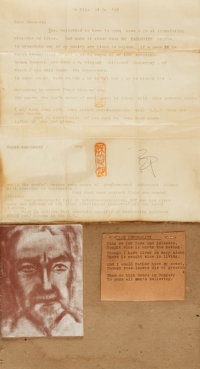 Poet Ezra Pound Typed Letter Signed