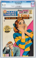 Silver Age (1956-1969):Romance, Heart Throbs #115 (Quality/DC, 1968) CGC NM- 9.2 Off-white to whitepages....