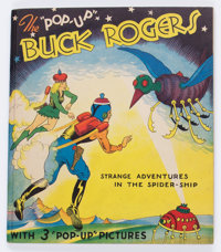The Pop-Up Buck Rogers - Strange Adventures in the Spider-Ship #nn (Blue Ribbon Press, 1935) Condition: VF+