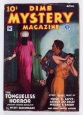 Pulps:Detective, Dime Mystery Magazine - April 1934 (Popular) Condition: VG/FN....