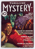 Pulps:Horror, Thrilling Mystery - November 1936 (Standard) Condition: VG+....