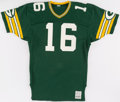 Football Collectibles:Uniforms, 1984-85 Randy Wright Game Worn Green Bay Packers Jersey....