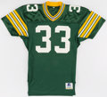 Football Collectibles:Uniforms, 1993 Doug Evans Game Worn Green Bay Packers Jersey....