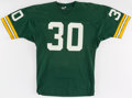 Football Collectibles:Uniforms, 1974 Larry Krause Game Worn Green Bay Packers Jersey....