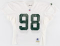 Football Collectibles:Uniforms, 1994 Gabe Wilkins Practice Worn Green Bay Packers Jersey....