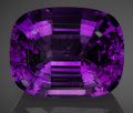 Gems:Faceted, Fine Gemstone: Amethyst - 38.33 Ct.. Mapatizi, Kalomo District,Southern Province, Zambia. ...