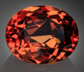 Gems:Faceted, Fine Gemstone: Malaia Garnet - 15.16 Ct.. Chimwala, ChipataDistrict, Eastern Province, Zambia. ...
