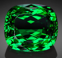 Exceptional Gemstone: Tsavorite Garnet - 16.88 Ct. Komolo Mine, 20 Km South of Komolo Village, Lelatema Mts, S