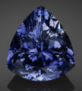 Gems:Faceted, Fine Gemstone: Iolite - 15.12 Ct.. Betroka District, AnosyRegion, Tuléar Province, Madagascar. ...