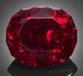 Gems:Faceted, Rare Gemstone: Cuprite - 18.57 Ct.. Oganja Mine, Oganja, Seeis, Windhoek District, Khomas Region, Namibia. ...