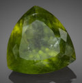 Gems:Faceted, Rare Gemstone: Vesuvianite - 30.78 Ct.. Voi, Taita TavetaDistrict, Coast Province, Kenya. ...