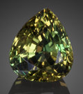 Gems:Faceted, Fine Gemstone: Chrysoberyl - 5.55 Ct.. Muhuwesi River, TunduruDistrict, Ruvuma Region, Tanzania. ...