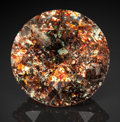 Gems:Faceted, Rare Gemstone: Hyalophane with Hematite Inclusions - 11.00 Ct.. Specific Locality Unknown, Madagascar. ...