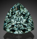 Gems:Faceted, Fine Gemstone: Aquamarine - 46.80 Ct.. Jos Plateau, PlateauState, Nigeria. ...