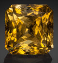 Gems:Faceted, Fine Gemstone: Yellow Tourmaline - 18.32 Ct.. TsilaizinaPegmatite, Sahatany Valley, Sahatany Pegmatite Field,Vakinankara...