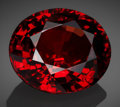 Gems:Faceted, Fine Gemstone: Garnet - 37.76 Ct.. Maevatanana District,Betsiboka Region, Mahajanga Province, Madagascar. ...