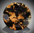 Gems:Faceted, Fine Gemstone: Andradite Garnet - 9.64 Ct.. Parrot Mine,Tubussis Farm 22, Karibib District, Erongo Region, Namibia. ...
