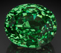Gems:Faceted, Exceptional Gemstone: Tsavorite Garnet - 65.72 Ct.. Block D,Merelani Hills, Lelatema Mts, Simanjiro District, ManyaraReg...