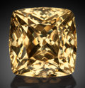 Gems:Faceted, Very Rare Gemstone: Scheelite - 59.48 Ct.. Natas Mine, NatasFarm 220, Gamsberg Area, Khomas Region, Namibia. ...