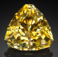 Gems:Faceted, Very Rare Gemstone: Anglesite - 59.92 Ct.. Tsumeb Mine, Tsumeb,Otjikoto Region, Namibia. ...