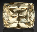Gems:Faceted, Very Rare Gemstone: Anglesite - 75.54 Ct.. Touissit District,Jerada Province, Oriental Region, Morocco. ...