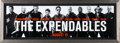 "Movie/TV Memorabilia:Photos, The Expendables (Lionsgate, 2010). Advance Bus Stop Bench Poster (18.5"" X 53""). ..."
