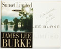 Books:Mystery & Detective Fiction, James Lee Burke. INSCRIBED. Sunset Limited. New York:Doubleday, [1998]....
