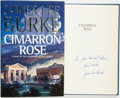 Books:Mystery & Detective Fiction, James Lee Burke. INSCRIBED. Cimarron Rose. New York:Hyperion, [1997]....