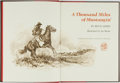Books:Americana & American History, Ben K. Green, author. Joe Beeler, illustrator. SIGNED/LIMITED. AThousand Miles of Mustangin'. Flagstaff: Northl...
