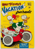 Golden Age (1938-1955):Cartoon Character, Dell Giant Comics: Vacation Parade #1 (Dell, 1950) Condition:FN....