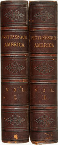 Books:Americana & American History, [Americana]. William Cullen Bryant, editor. Picturesque America;or, The Land We Live In. A Delineation by Pen and Penci... (Total:2 Items)