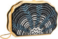 "Luxury Accessories:Bags, Judith Leiber Full Bead Black & Blue Crystal Oyster MinaudiereEvening Bag. Excellent Condition. 6.5"" Width x 4.5""Hei..."