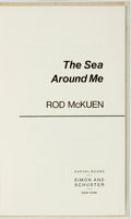 Books:Literature 1900-up, Rod McKuen. SIGNED/LIMITED. The Sea Around Me. New York:Simon and Schuster, [1977]....