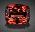 Gems:Faceted, Very Fine Gemstone: Malaia Garnet - 33.37 Ct.. Umba RiverValley, Tanzania. ...