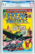 Bronze Age (1970-1979):Alternative/Underground, The Fabulous Furry Freak Brothers #6 (Rip Off Press, 1980) CGC NM- 9.2 Off-white to white pages....