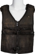 "Movie/TV Memorabilia:Costumes, A Bullet-Proof Vest from ""The Expendables.""..."