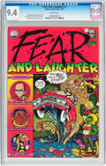 Bronze Age (1970-1979):Alternative/Underground, Fear and Laughter #1 (Kitchen Sink, 1977) CGC NM 9.4 White pages....