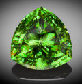 Gems:Faceted, Very Rare Gemstone: Chrome Sphene - 31.85 Ct.. Daraina Area,Northern Madagascar, Madagascar. ...