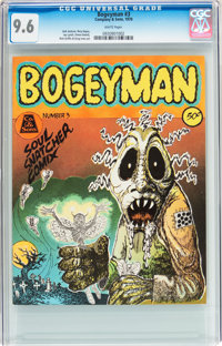 Bogeyman #3 (Company and Sons, 1970) CGC NM+ 9.6 White pages