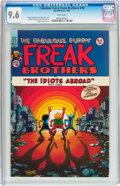 Modern Age (1980-Present):Alternative/Underground, The Fabulous Furry Freak Brothers #10 (Rip Off Press, 1987) CGC NM+9.6 White pages....