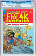Modern Age (1980-Present):Alternative/Underground, The Fabulous Furry Freak Brothers #8 (Rip Off Press, 1984) CGC NM- 9.2 White pages....
