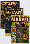 Silver Age (1956-1969):Horror, Atlas Comics Golden and Silver Age Horror Comics Group of 4 (Atlas,1950-62) Condition: Average GD-.... (Total: 4 Comic Books)