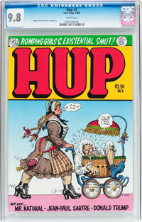Hup #3 (Last Gasp, 1989) CGC NM/MT 9.8 White pages
