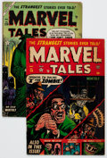 Golden Age (1938-1955):Horror, Marvel Tales #114 and 129 Group (Atlas, 1953-54) Condition: AverageVG.... (Total: 2 Comic Books)