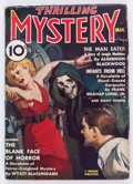 Pulps:Horror, Thrilling Mystery - March 1937 (Standard) Condition: GD/VG....