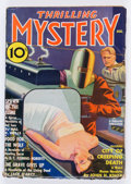 Pulps:Horror, Thrilling Mystery - August 1936 (Standard) Condition: VG....