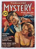 Pulps:Horror, Thrilling Mystery - January 1938 (Standard) Condition: VG....