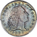 Early Half Dimes, 1795 H10C V-4, LM-10, R.3, MS65 PCGS. CAC....