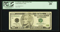 Small Size:Federal Reserve Notes, Serial Number B00000001* Fr. 2035-B* $10 2001 Federal Reserve Note. PCGS Very Fine 20.. ...
