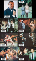 "Movie Posters:James Bond, From Russia with Love (United Artists, R-1970s). French Color PhotoSet of 8 (8.25"" X 10.75""). James Bond.. ... (Total: 8 Items)"